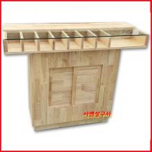 목재필경대-02 120cm x 40cm x95cm